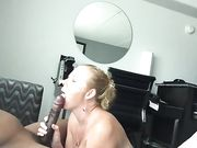 Amateur interracial swinger sex with white wife and black stud